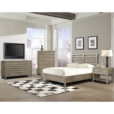 Trawalla Shutter Platform Customizable Bedroom Set