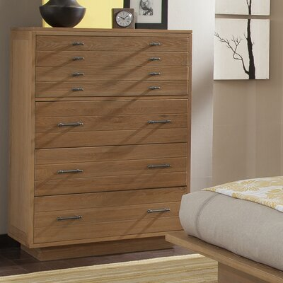 Hudson 5 Drawer Chest Color: Sand