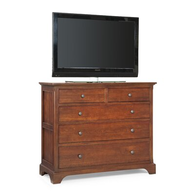 Retreat Cherry 4 Drawer Media Dresser