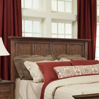 Cresent Furniture Retreat Cherry Panel Headboard - Size: Queen