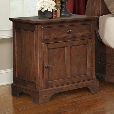 Retreat Cherry 1 Drawer Nightstand