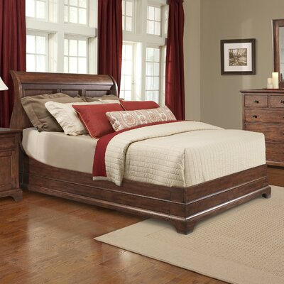 Retreat Cherry Panel Bed