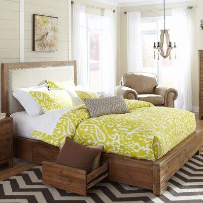 Waverly Upholstered Storage Platform Bed