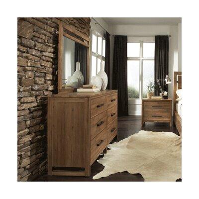 Ciera 6 Drawer Double Dresser with Mirror