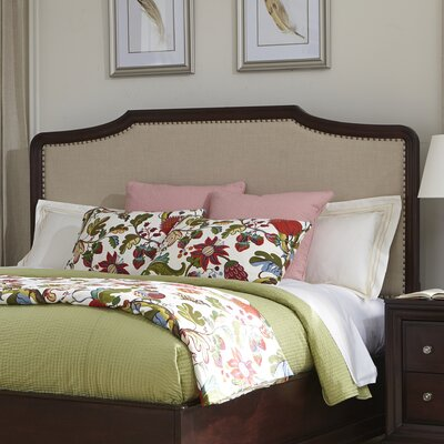 Newport Upholstered Panel Headboard Size: King