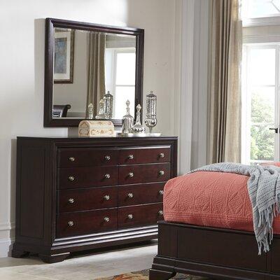 Newport 8 Drawer Dresser with Mirror