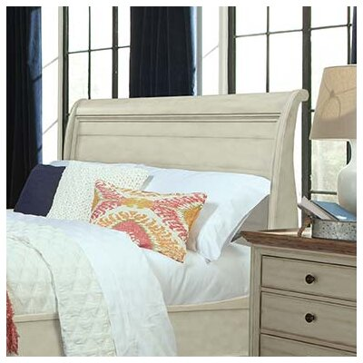 Allgood Sleigh Headboard Size: King