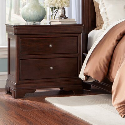 Provence 2 Drawer Nightstand