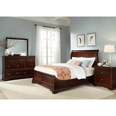 Provence Sleigh Customizable Bedroom Set