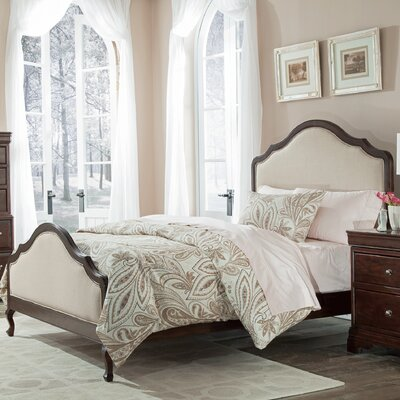 Provence Upholstered Panel Bed