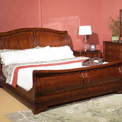 Cresent Furniture Regent's Park Sleigh Bed (3 Pieces) - Size: Queen at Sears.com
