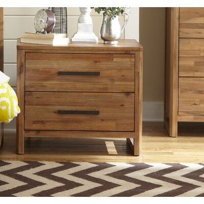 Ciera 2 Drawer Nightstand