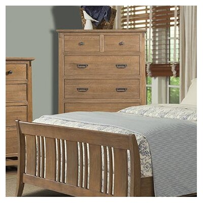 Huber 6 Drawer Double Dresser