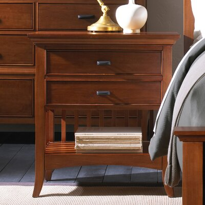 Carolyn 2 Drawer Nightstand