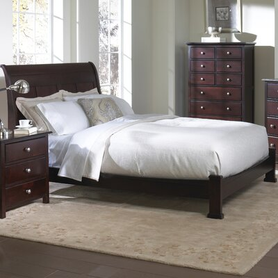 In store financing Murray Hill Platform Sleigh Bedroom...