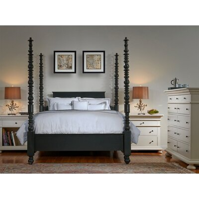 Parkland Four Poster Customizable Bedroom Set