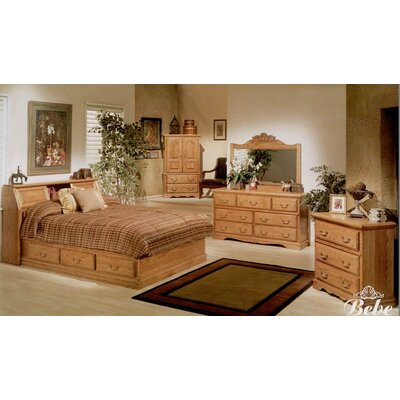 Lucie Platform Customizable Bedroom Set