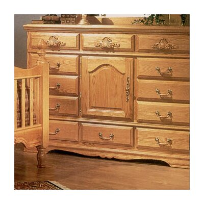 Lucie 12 Drawer Oversized Combo Dresser