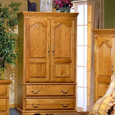 Seattle Wood Furniture on Bebe Furniture Country Heirloom Small Tv Armoire In Medium Wood 507n C