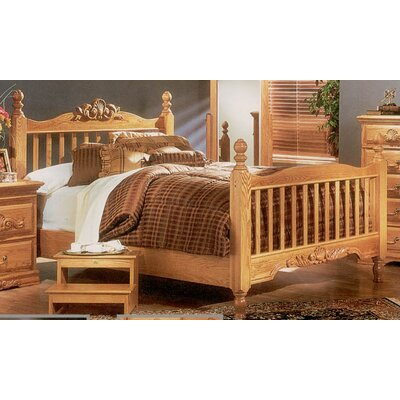 Lucie Slat Headboard and Footboard Size: California King