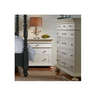 Parkland 11 Drawer Dresser Finish: Pearl White