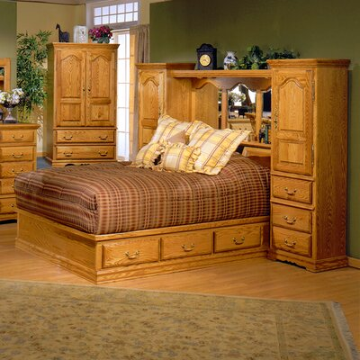 Low Price Bebe Furniture Country Heirloom Pier Wall Platform Bedroom Collection