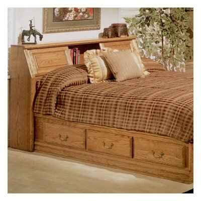 Bebe Furniture Country Heirloom Pier Bookcase Headboard Only in Warm Rich - Size: King at Sears.com