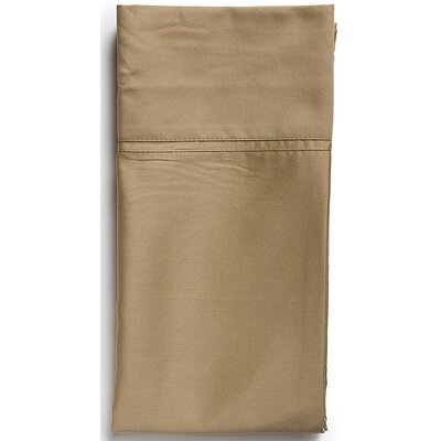 Pillowcase Size: Standard, Color: Toffee