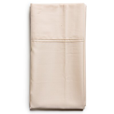 Sateen Sham Size: King, Color: Champagne