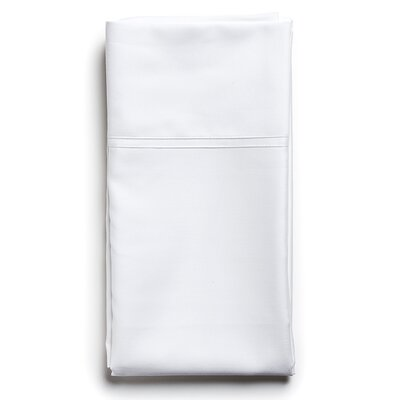 Sateen Sham Size: Standard, Color: Cotton Ball