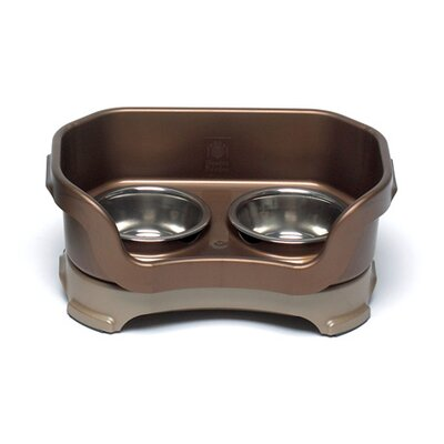 Cat Bowl Color: Bronze