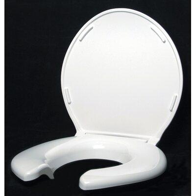 Open Front Round Toilet Seat