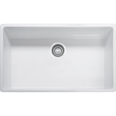 Farm House 33 x 20 Single Bowl Fireclay Apron Kitchen Sink