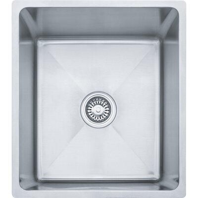 Professional Series 17.5 x 19.5 Single Bowl Undermount Kitchen Sink