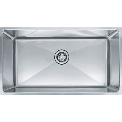 Professional Series 34 x 19.62 Single Bowl Undermount Kitchen Sink