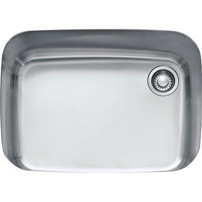 EuroPro 28.75 x 20.87 Single Bowl Kitchen Sink