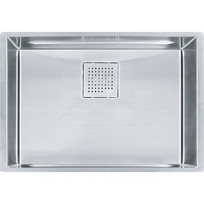 Peak 26.18 x 17.75 Single Bowl Undermount Kitchen Sink