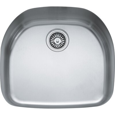 Prestige 22.25 x 19.87 Single Bowl Undermount Kitchen Sink