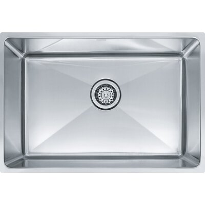 Professional Series 25.5 x 17.62 Single Bowl Undermount Kitchen Sink