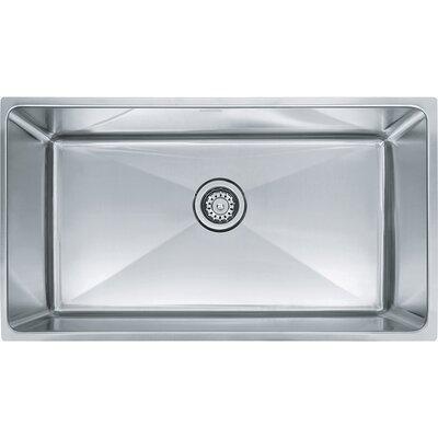 Professional Series 33 x 20.87 Single Bowl Undermount Kitchen Sink