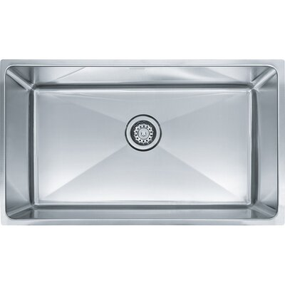 Professional Series 31.5 x 19.5 Single Bowl Undermount Kitchen Sink