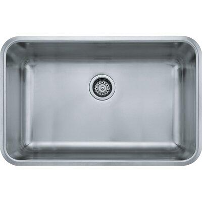 Grande 30.13 x 19.13 Single Bowl Boxed Kitchen Sink