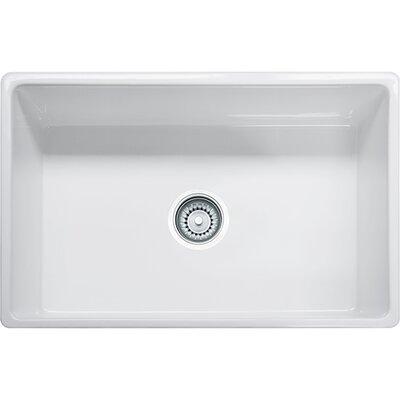 Farm House 30.13 x 20 Single Bowl Fireclay Apron Kitchen Sink