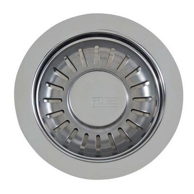 Strainer Basket Finish: Satin Nickel