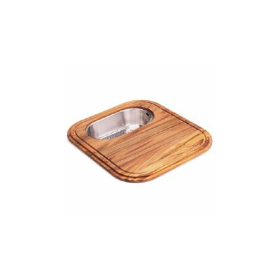 Euro-Pro Wooden Cutting Board with Colander in Teak GN20-45SP