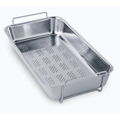 Polished Stainless Steel Colander