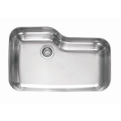 Orca 30.69 x 20.06 Undermount Kitchen Sink
