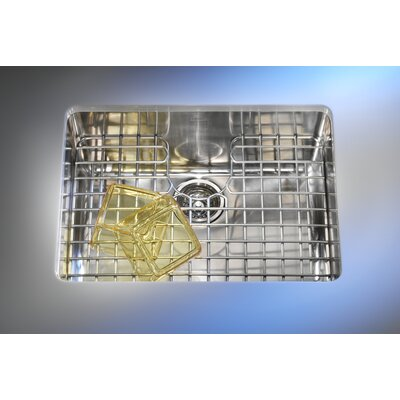 Kubus 19.25 x 17.31 Single Bowl Kitchen Sink