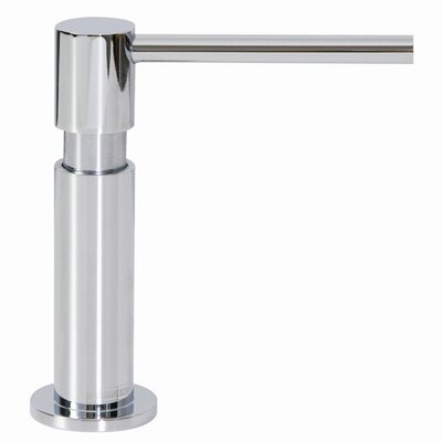 Slimline Soap Dispenser Finish: Satin Nickel
