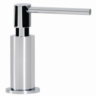 Ovale Soap Dispenser Finish: Satin Nickel